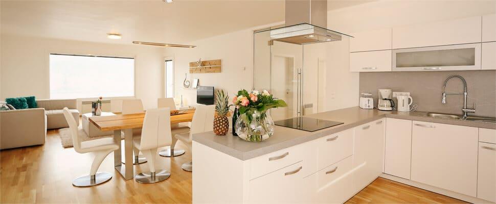 Küche inkl. Wohnraum