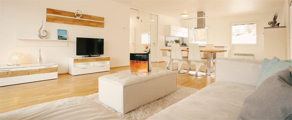 Wohnzimmer mit LCD TV